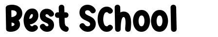 Best School font