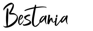 Bestania font