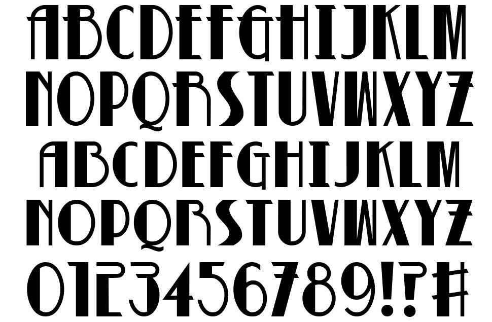 Betty Noir font