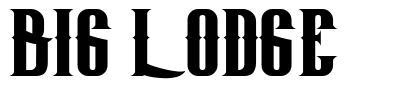 Big Lodge font