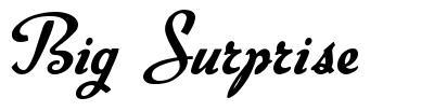 Big Surprise font