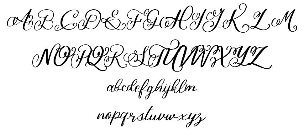 Bigbang font