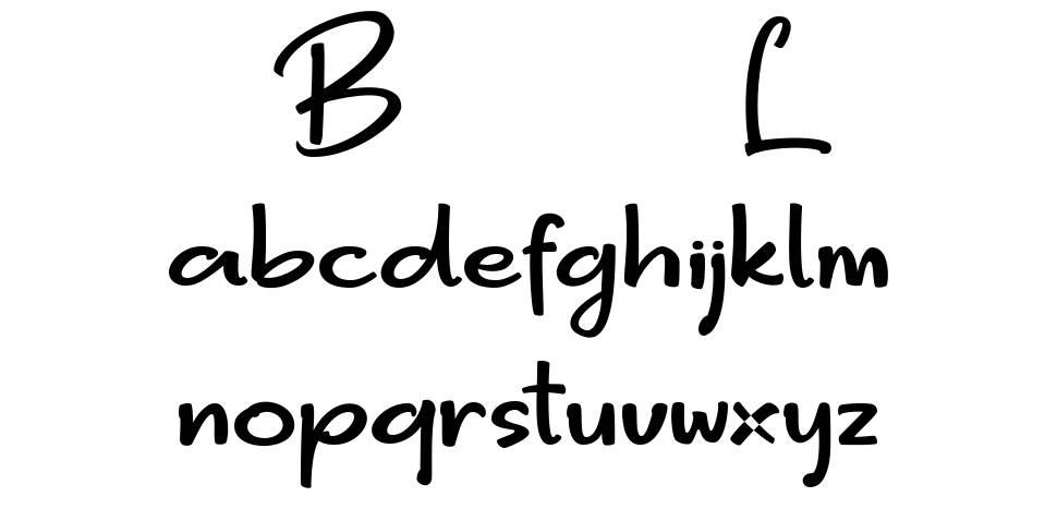 Bigger Love font