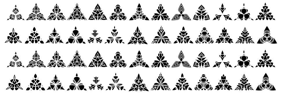 Bigiliw.Patterns font