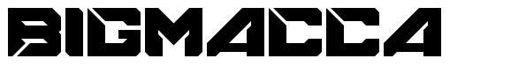 Bigmacca font