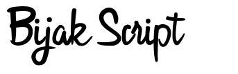 Bijak Script