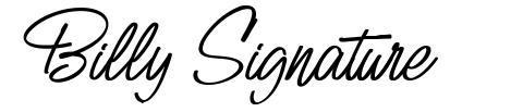 Billy Signature