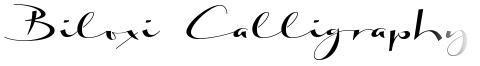 Biloxi Calligraphy