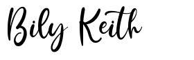 Bily Keith fuente
