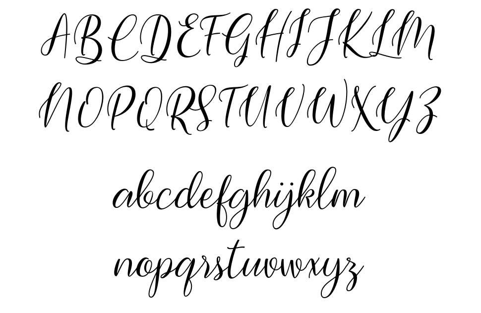 Bimfly font