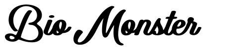 Bio Monster 字形