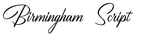 Birmingham Script