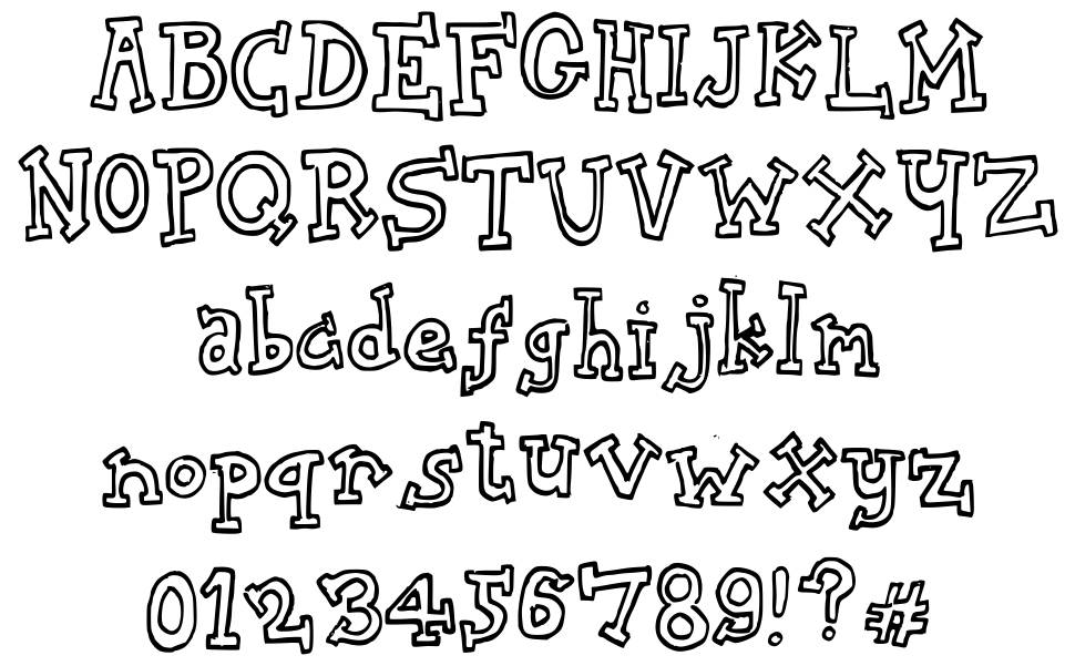 Biscuit Tin font