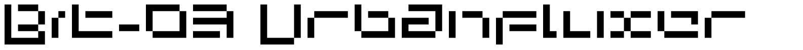 Bit-03 Urbanfluxer
