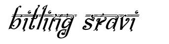 Bitling Sravi font