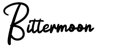Bittermoon font