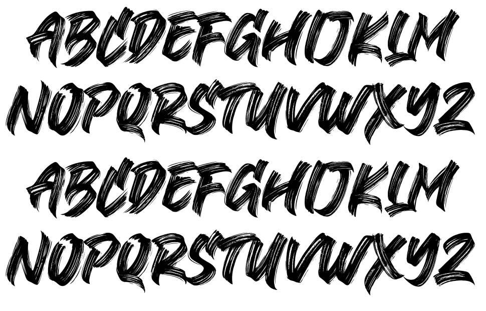 Black Bruno шрифт