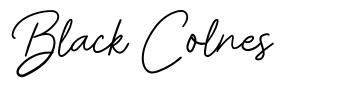 Black Colnes