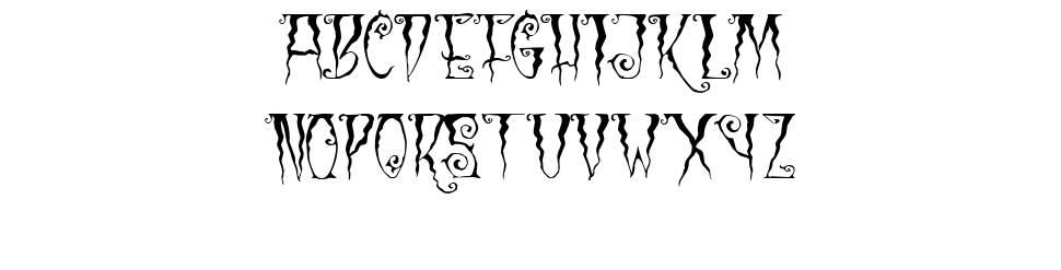 Black Cow шрифт