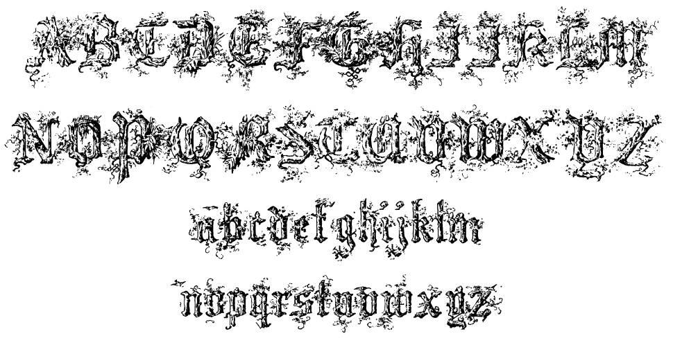 Black Forest font