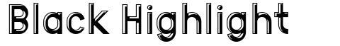 Black Highlight