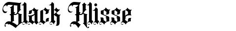 Black Klisse