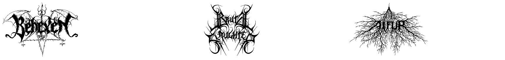 Black Metal G font