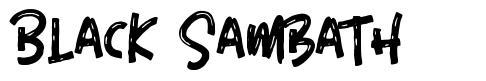 Black Sambath 字形