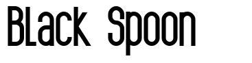 Black Spoon font