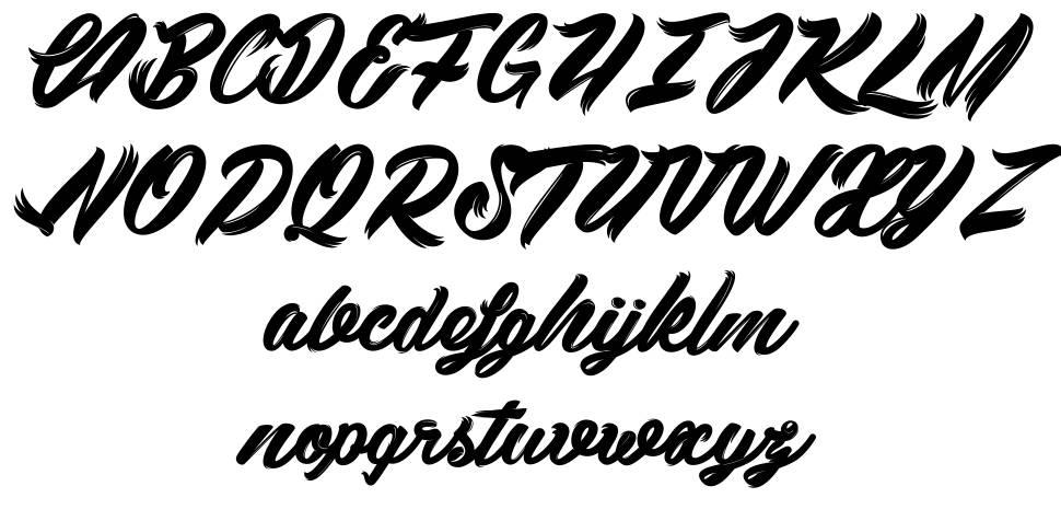 Black Swan font