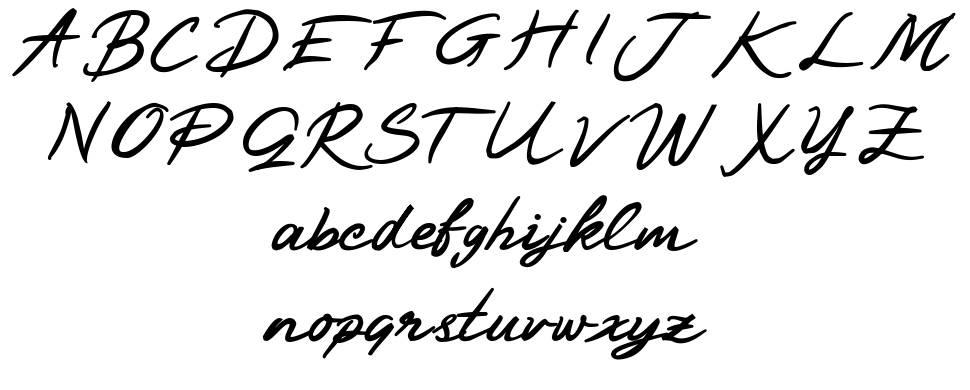 Blackanger шрифт