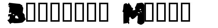 Blackfly Mambo font