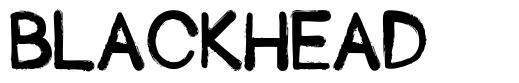 Blackhead font