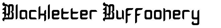 Blackletter Buffoonery font