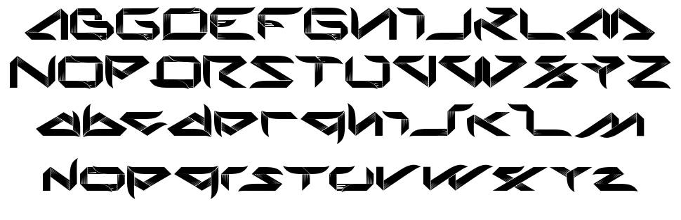 Bladeline шрифт