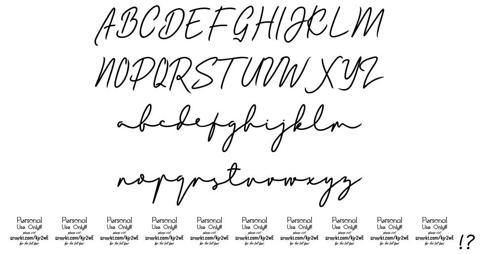 Bladog font