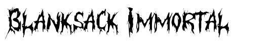 Blanksack Immortal