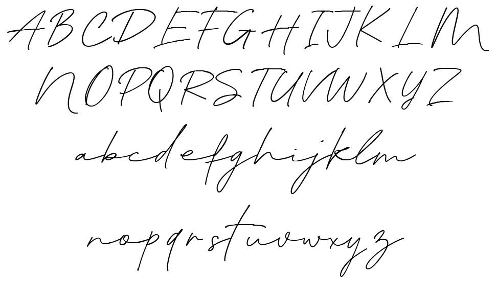 Blante Panama Script フォント