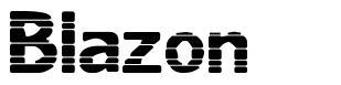 Blazon font