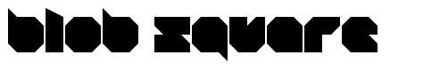 Blob Square font