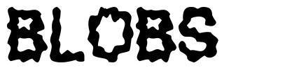 Blobs font