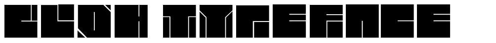 Blok Typeface