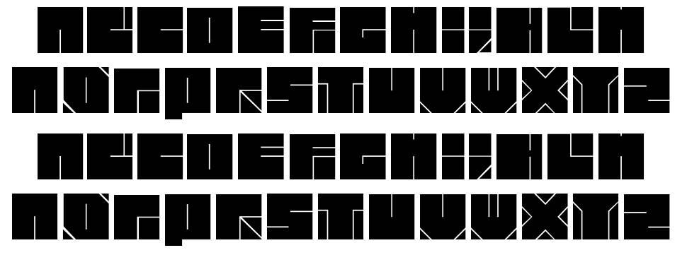 Blok Typeface font