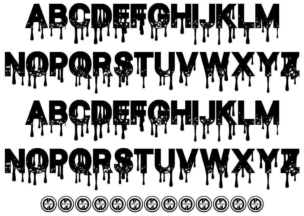 Blood Thirst font