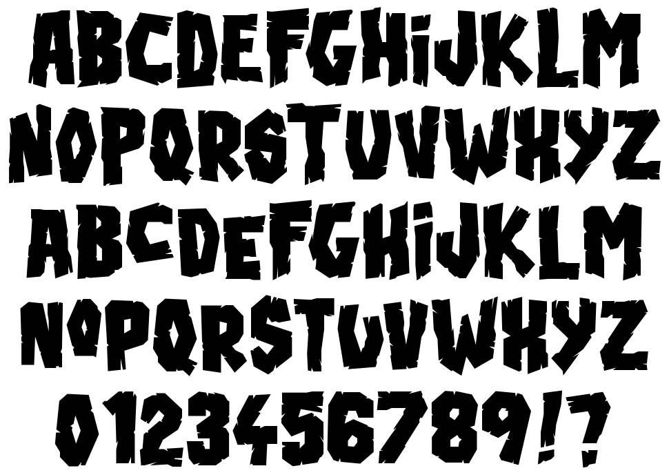 Blood'n Guts font