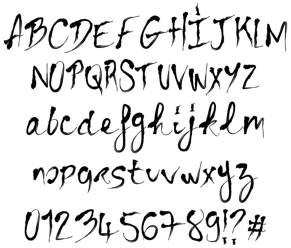 Bloody Cre font