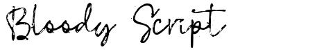 Bloody Script