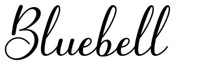 Bluebell font