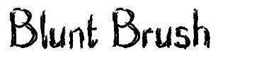 Blunt Brush