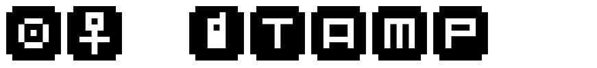 BM Stamp font